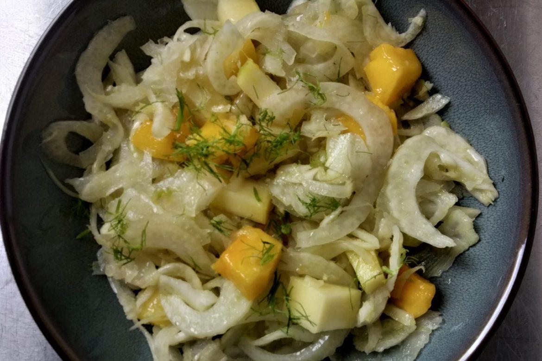 Fenchelsalat mit Mango