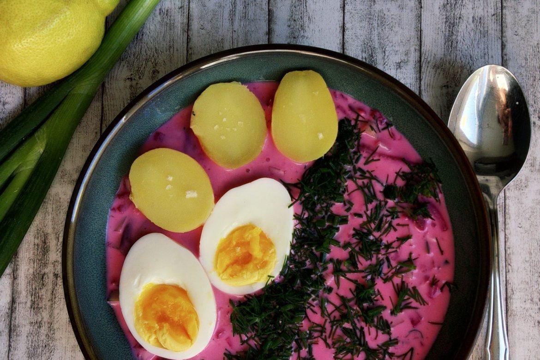 Kalte Sommersuppe mit Buttermilch